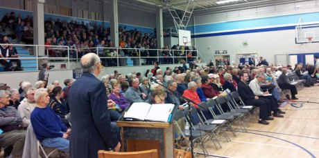 Nov 4th 2014, Over 600 people came out to meet the Candidates and hear their plans for Summerland's future.